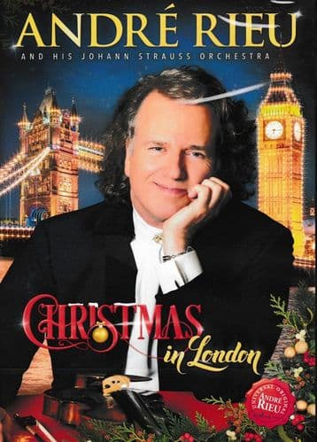 Andre Rieu And His Johann Straus Orchestra<br>Christmas In London<br>DVD